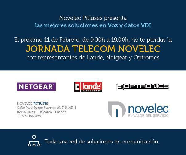 Jornada Telecom Novelec en Ibiza