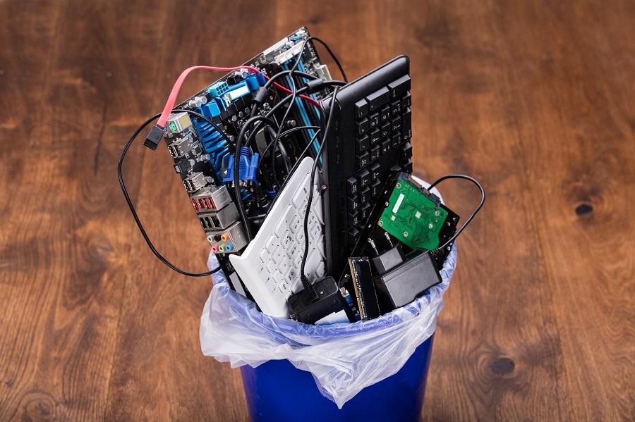 ¿Cómo se reciclan los aparatos de electrónica profesional?
