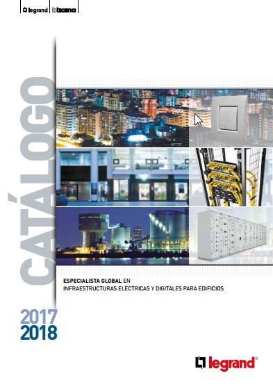 Nuevo catálogo de Legrand