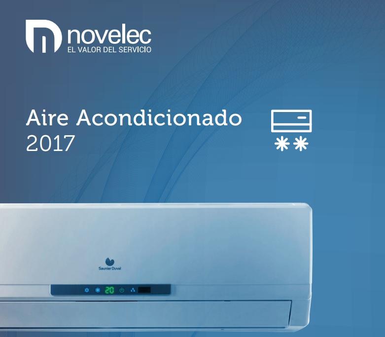 Novelec lanza su nuevo catálogo de Aire Acondicionado