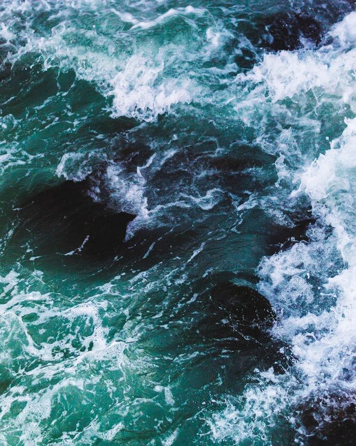 energía azul agua renovable