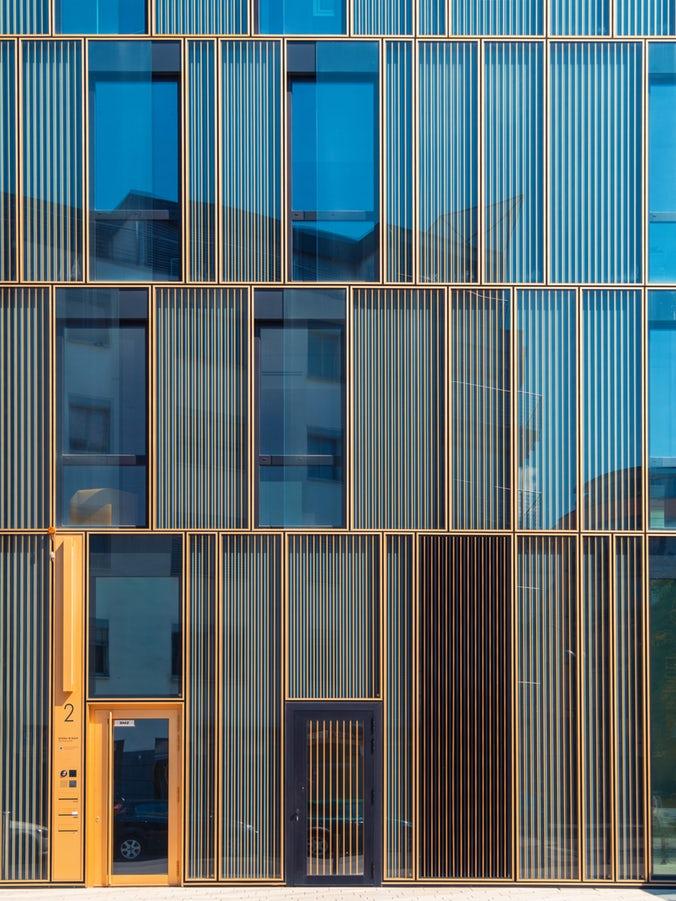 eficiencia energética fachada domotica