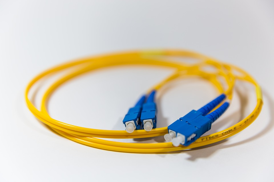 fibra óptica usos fabricación