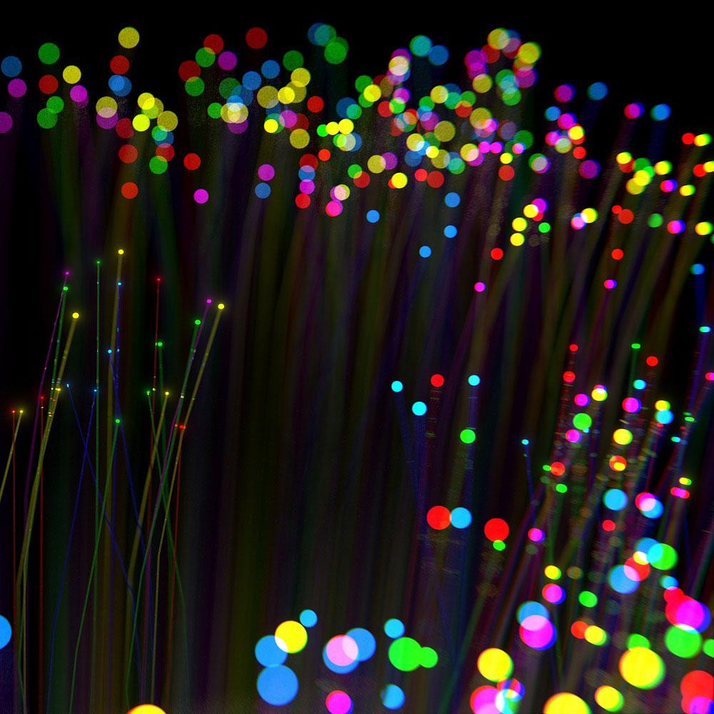 Fabricación y usos de la fibra óptica