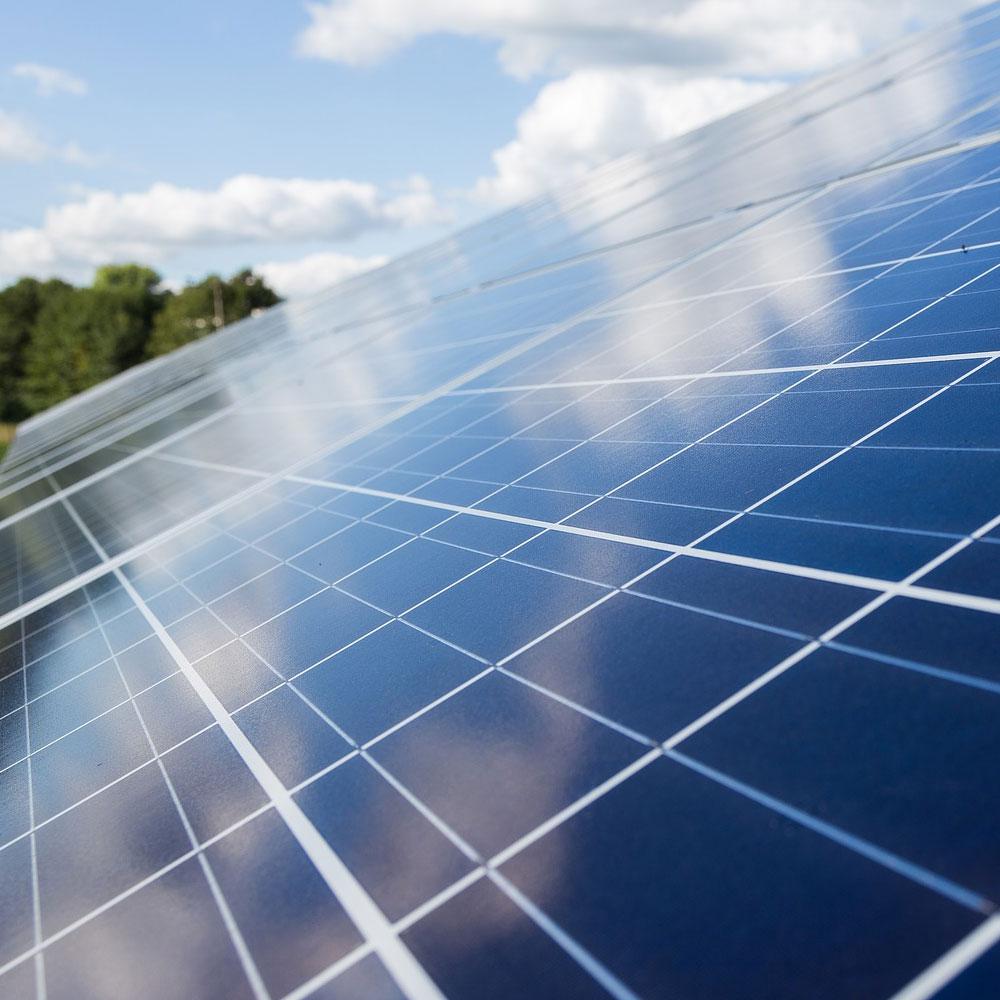 placa solar energia