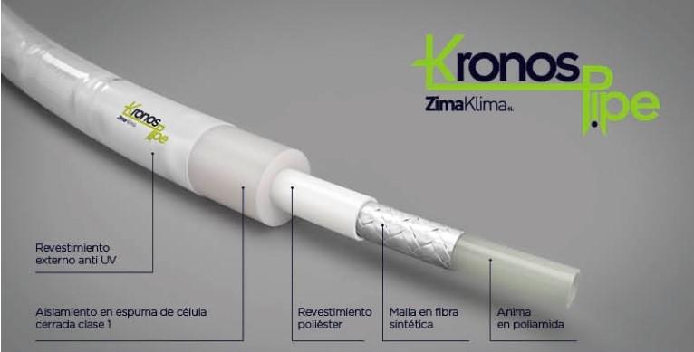 kronos pipe materiales tubo aire acondicionado