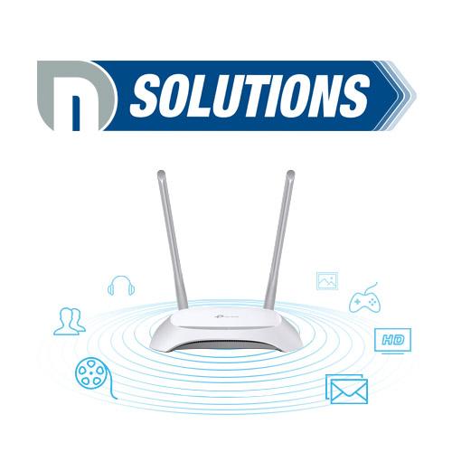 tplink TL WR850N router telecomunicaciones