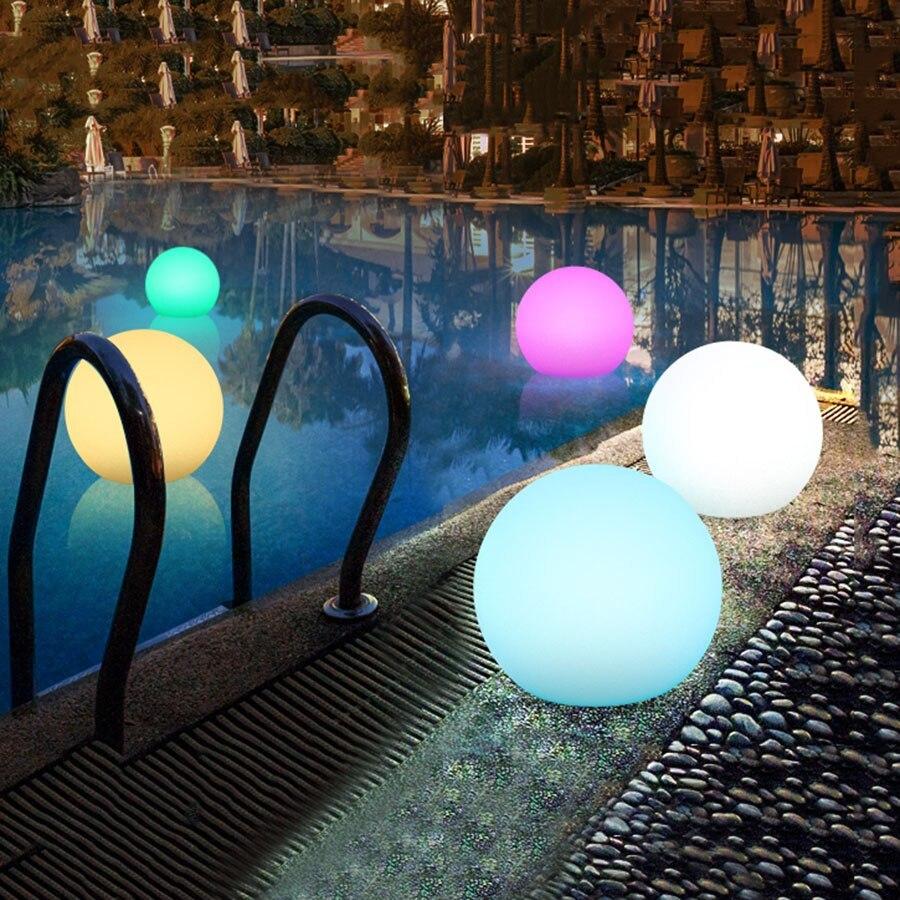 luces para piscinas