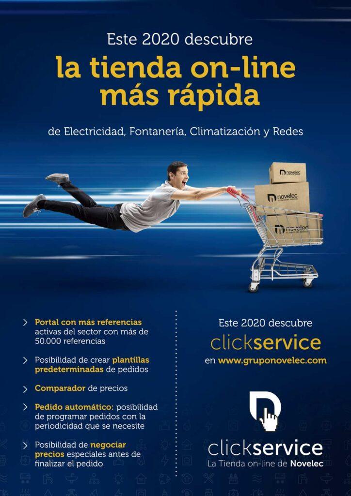 tienda online para profesionales de la electricidad fontaneria climatización y telecomunicaciones - Grupo Novelec