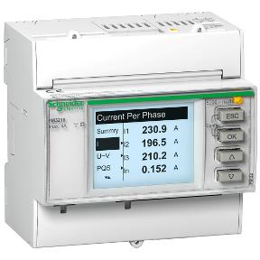 medidor de consumo eléctrico schneider electric