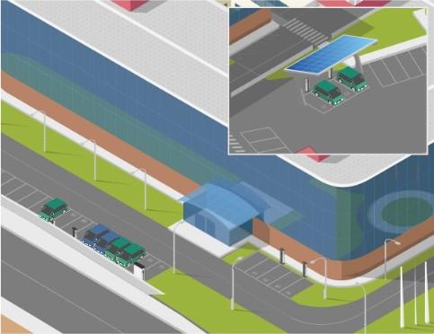 gestion dinamica de la potencia en recarga de vehiculos electricos